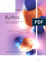 Buffers Booklet - Calbiochem