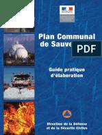 Guide Plan Communal de Sauvegarde