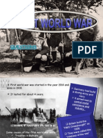 First World War (1914-1918)
