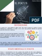 Il Focus- Prova 1 Federica Maxia 2e