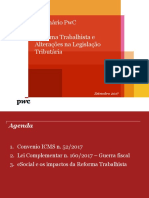 Seminário sobre Reforma Trabalhista