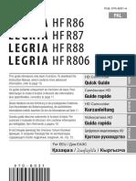 руководствопользователя Canon LEGRIA HF R806