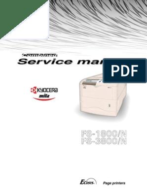 Kyocera Printer Reset Code