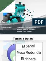 268725517 Mesa Panel y Debate Ppt