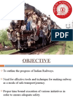 Indian Railway (adequate safety)