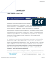 ¿Qué es Mercado Vertical?