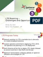 GSMA AP LTE Roaming Syniverse[1]