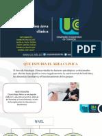 Instrumentos de evaluación área clínica