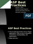 ASP Best Practices