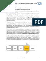 5.Resumen de clase. (Pautas y Programa- Arq. Silvina Vargas)