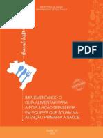 Manual Instrutivo Guia Alimentar Pop Brasileira