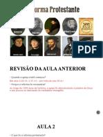 503 anos da reforma protestante
