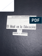 009 El Ideal en la Educación