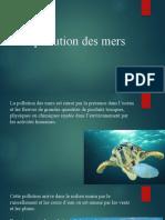 La pollution des mers