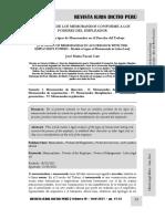 Tipología de Memorandos Conforme a Los Poderes Del Empleador - Autor José María Pacori Cari