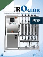 Productor de cloro en sitio MicroClor