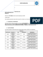 CCP 223804 Oferta mercantil ELECTRICOS INGENIERIA Y SERVICIOS SAS