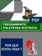 Segurança na Operação de Paleteira Elétrica