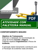 Treinamento Paleteira Manual - Hidraúlica