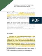 A CRISE POLÍTICA DO NEODESENVOLVIMENTISMO - Boito jr