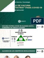 Así va el lento desarrollo de la vacuna mexicana Patria