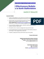 Clinical Effectiveness Bulletin 49, February 2011