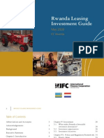 Rwanda Leasing Investment Guide 2009