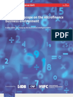 EIU Global Microscope on the Microfinance Business Environment 2009