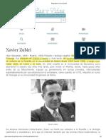 Biografia de Xavier Zubiri