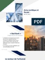 Actus juridique et fiscale 09.0.2021