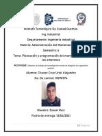 Planeación y Programación Del Mantenimiento en Las Empresas- Uriel a Chavez Cruz