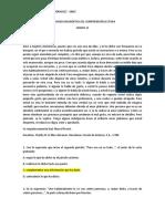 Prueba Diagnostica-Taller Comprensión Lectora 11