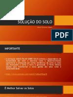 AULA - QUALIDADE DO SOLO