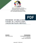 Informe en Relacion Al Covid 19 - 20210-2021