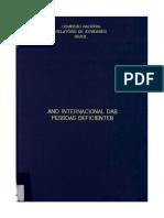 81 ANO INTERNACIONAL DEFICIENTE