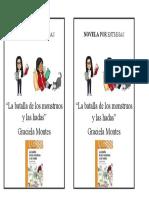 Novela por entregas 4° Grado Ale y Gabriela