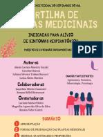 CARTILHAS DE PLANTAS MEDICINAIS - UFRGSUL
