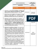 PT-023 PROCEDIMIENTO PARA DETERMINAR CONTEXTO DE LA ORGANIZACION
