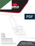 Manual - Compactador de Placa Vibratória