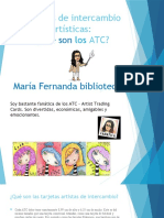 ATC Tarjetas artísticas de Intercambio