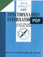 PELLET RUZIE 1993 Fonctionnaires Internationaux
