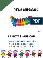 2ª SÉRIE -AS NOTAS MUSICAIS (1)