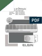 Manual ar condicionado elgin