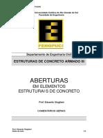 Concreto_III_Notas_C09_Aberturas_em_Elementos_Estruturais_de_Concreto