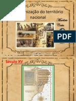 12-AULA 1 - A ORGANIZACAO DO TERRITORIO NACIONAL - 7 ANO