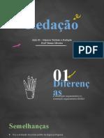 Modelo Fuvest e Unicamp Introdução - Redação