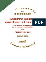 Guerre-sainte-martyre-et-terre-Philippe-Buc