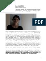 Interview avec Melina Vazquez (CONICET-UBA)