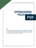 6.- OPERACIONES POLICIALES CAPACITACION POLICIA LOCAL CLASE Nº 06