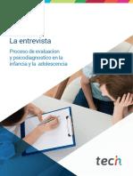Máster en Psicología Clínica Infantojuvenil-La entrevista.